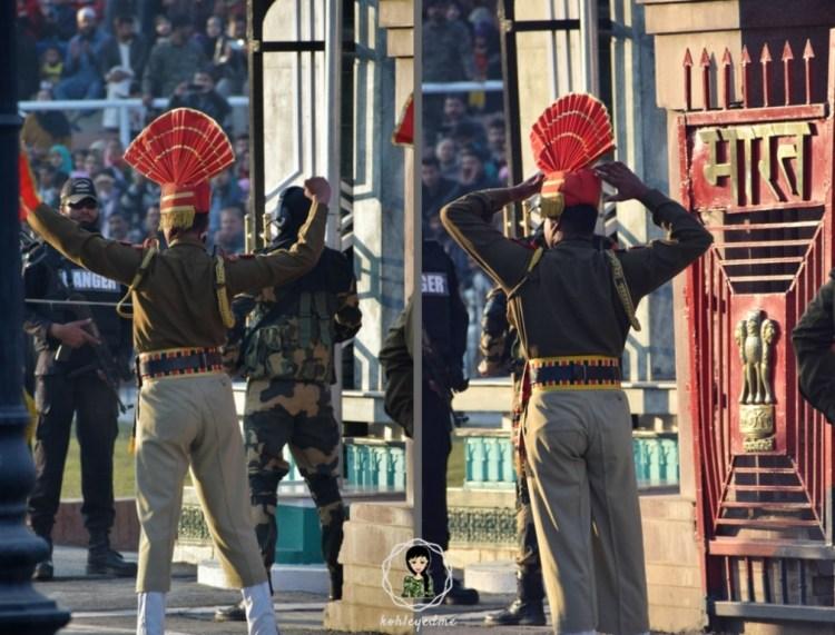 Wagah Border Closing Ceremony Amritsar kohleyedme.com