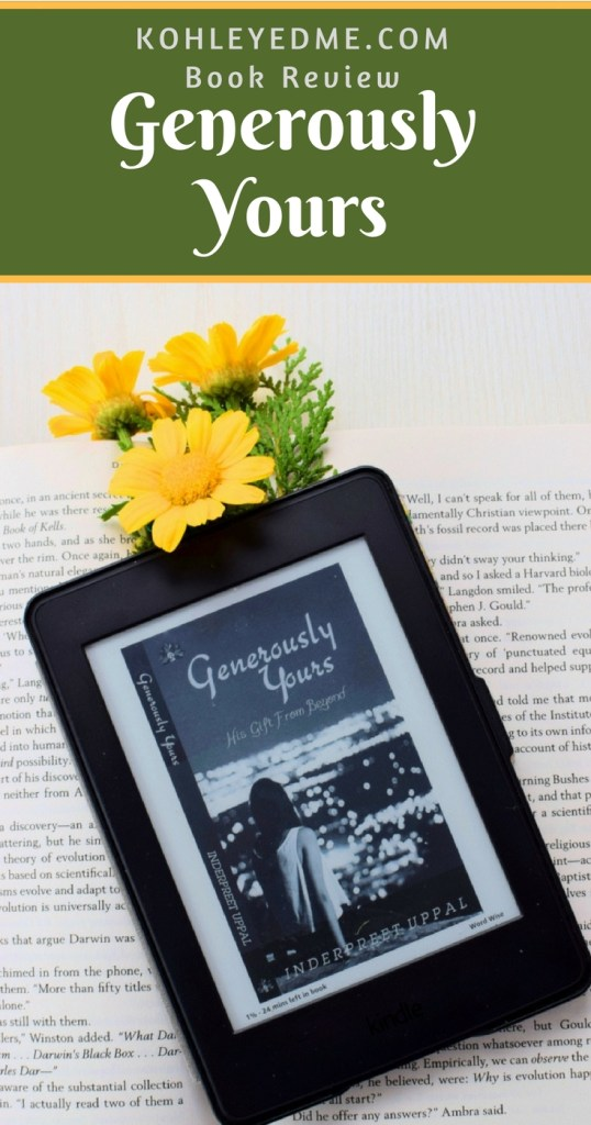 Generously Yours Book Review Pinterest