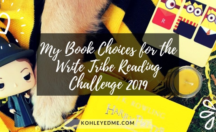Write Tribe Reading Challenge prompts books