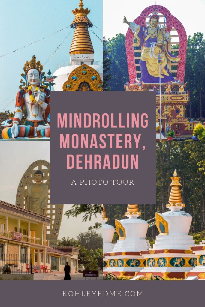 Mindrolling Monastery in Dehradun has the World Peace Stupa and Buddha Temple