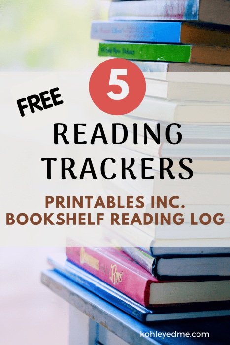 free reading tracker printables