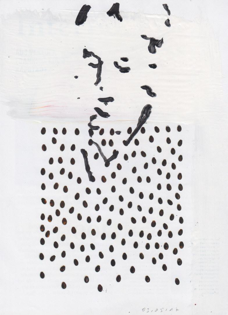 Hans-Peter Kohlhaas Zeichnungen