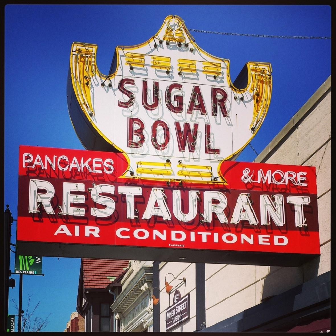 Sugar Bowl Restaurant - Des Plaines, Illinois U.S.A. - April 13, 2014