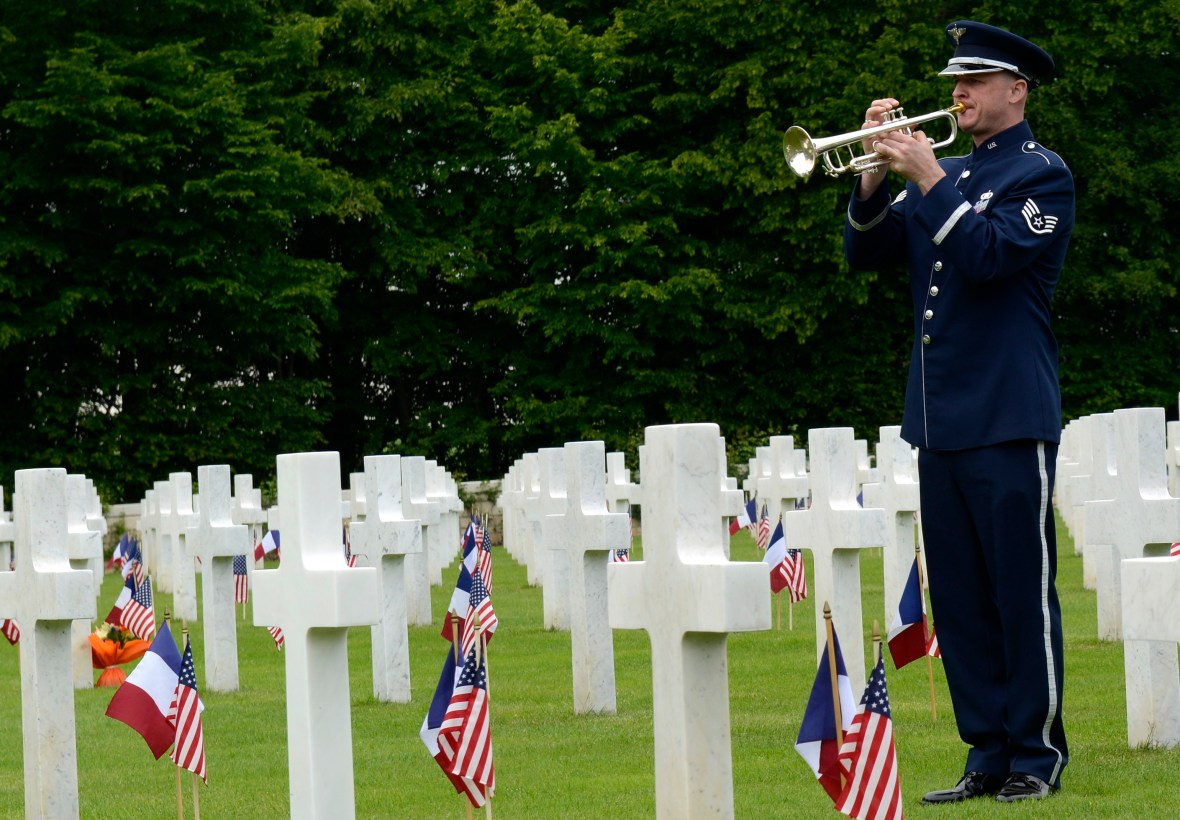 St. Mihiel American Cemetery - Thiaucourt, France - May 24, 2015