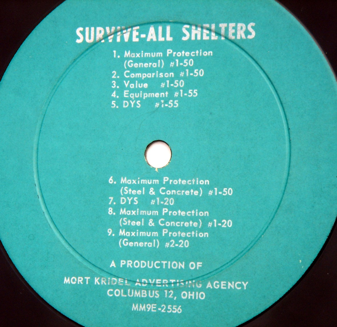 Survive-All Shelters record label