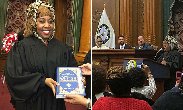 America's first Muslim woman judge