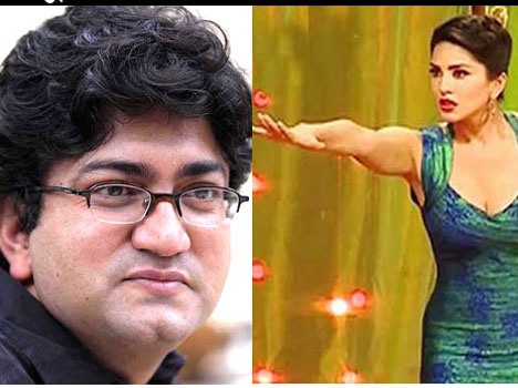 Sunny Leone was a fitting reply to the famous writer Prasoon Joshi