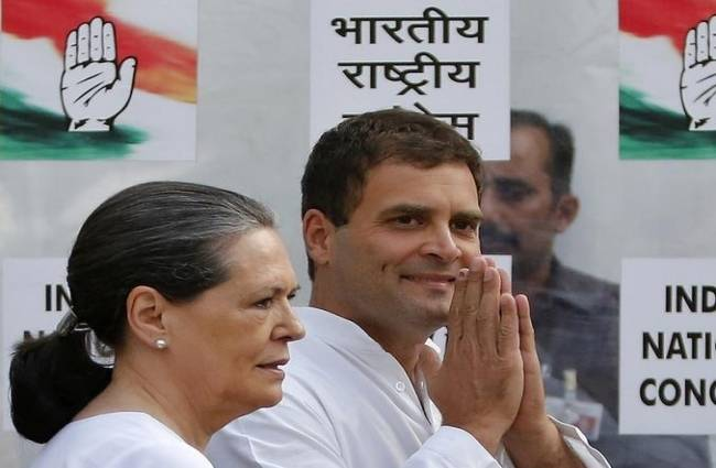 Rahul Gandhi may have come back from Europe hosts crown