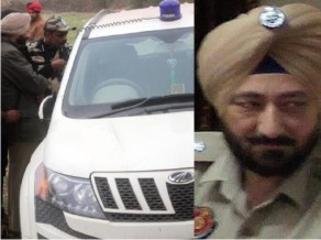 Pathankot ATTACK car found Slvinder Chinese Wireless