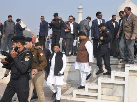 Akhilesh Supreme Court openly blown apart