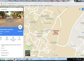 anti national google map