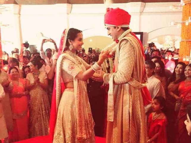 after mumbai bash mukesh ambanis niece ties the knot in an intimate goa wedding