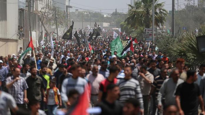 return march gaza