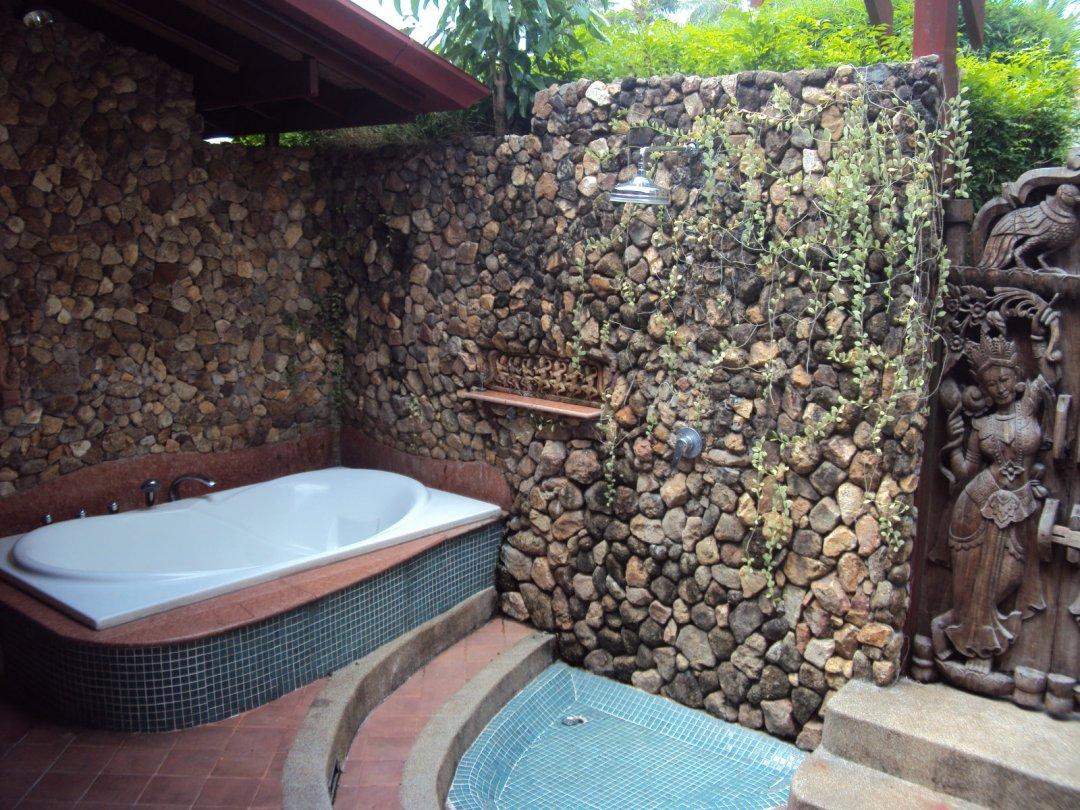 P5 Coconut Paradise Romantic Thai Style Teak Wood Beachside Villa