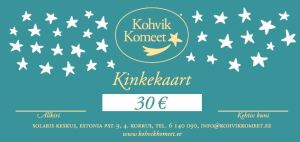 Gift Certificate 30€