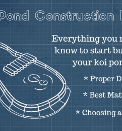 koi pond construction the basics of building your pond [ 1280 x 720 Pixel ]