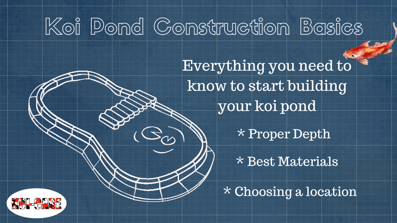 hight resolution of koi pond construction the basics of building your pond