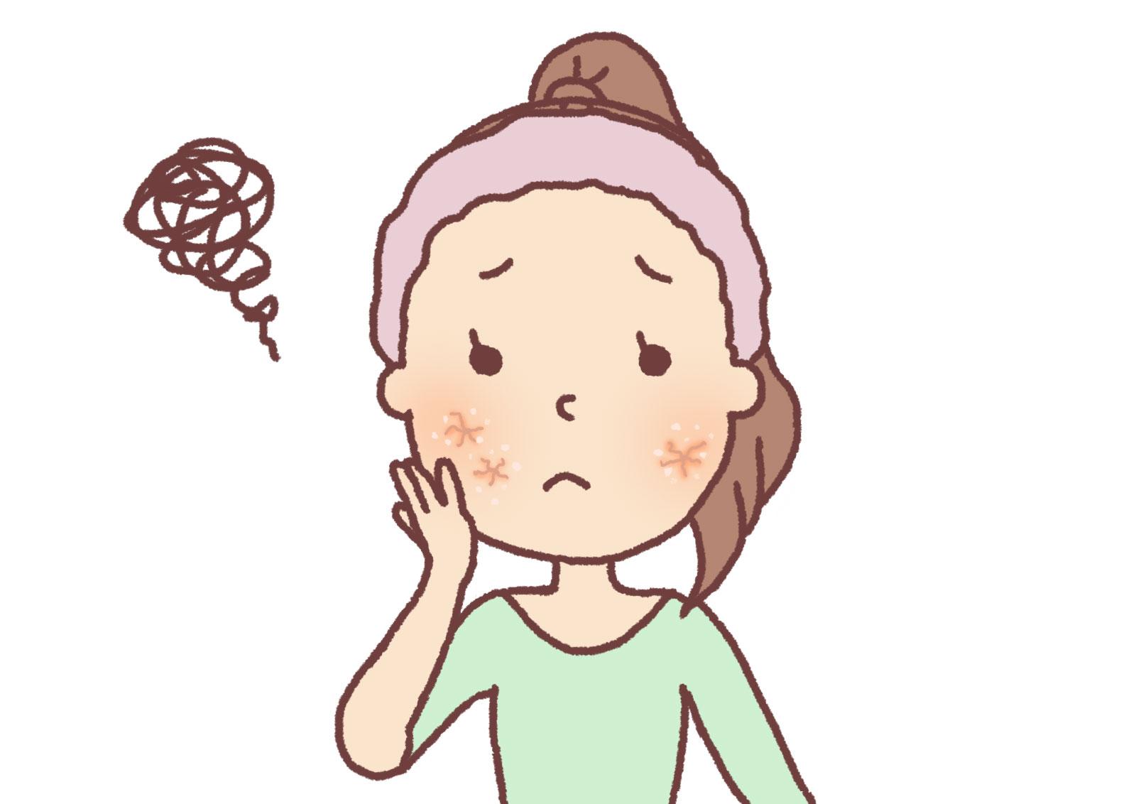顔が肌荒れでヒリヒリする場合の原因と対処法をご紹介