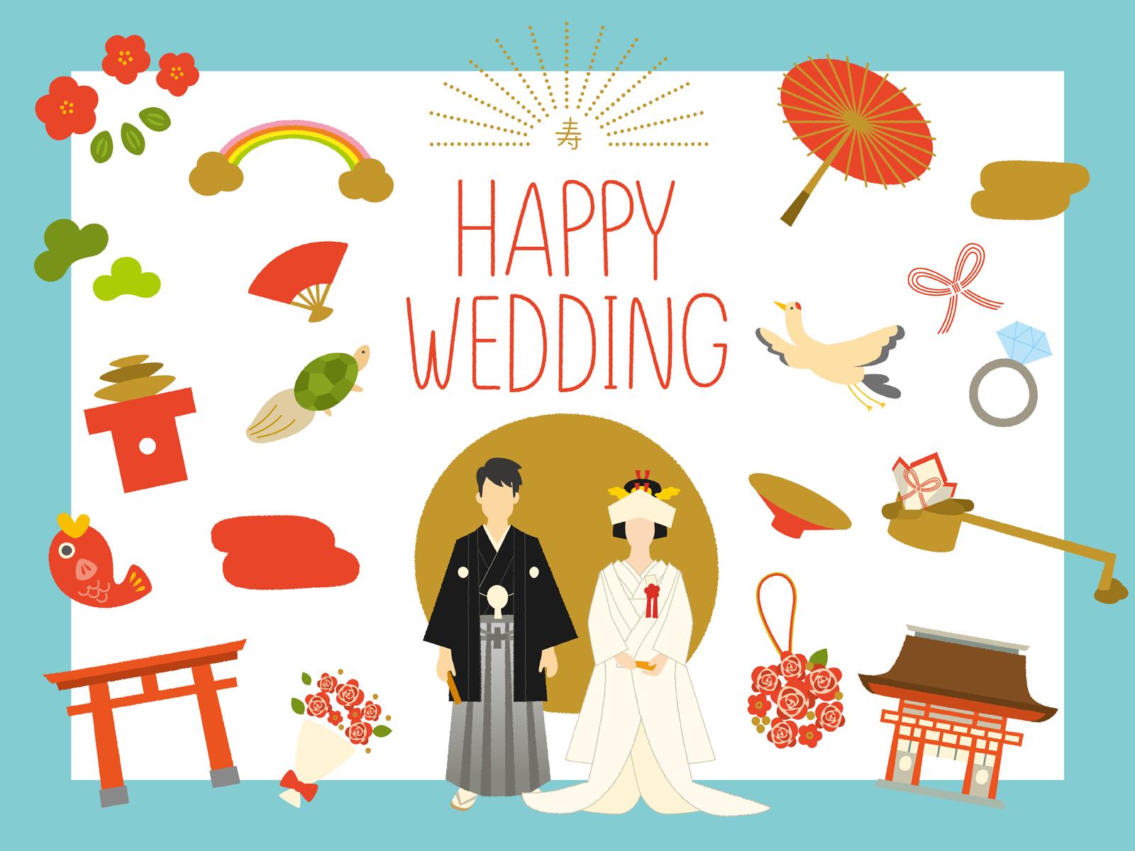 結婚式での和装の入場の仕方や演出、音楽のオススメ!