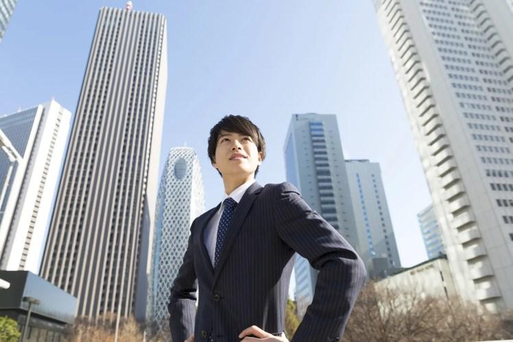 20代 男性 ビジネスマン