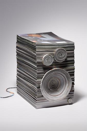 paper loudspeakers
