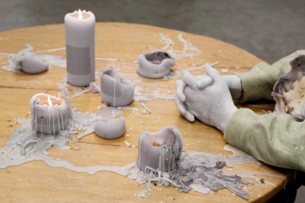 Melting Sculptures by Urs Fischer