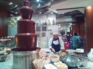 Wooh! Chocolate Fondue!