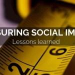 Μέτρηση του Κοινωνικού Αντικτύπου των Κοινωνικών Επιχειρήσεων