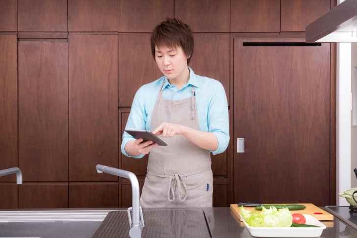 旦那が料理をして円満家庭
