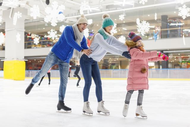 親子スケート