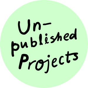 Unpublished projects