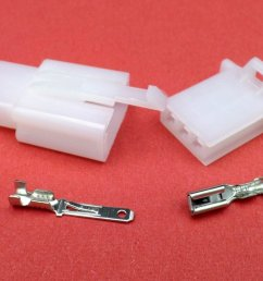 2 8mm 3 way white mtw motorcycle wiring loom cable connector motorcycle wiring loom connectors motorcycle wiring loom connectors [ 1024 x 768 Pixel ]