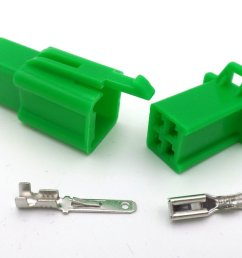 2 8mm 4 way green mtw mini latch motorcycle wiring loom connector 2 8mm 4 way [ 1024 x 768 Pixel ]