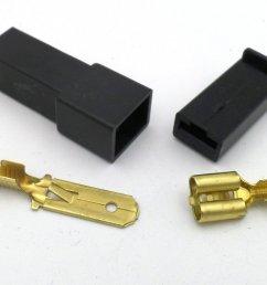 6 3mm 1 way automotive wiring loom connector in black [ 1024 x 768 Pixel ]