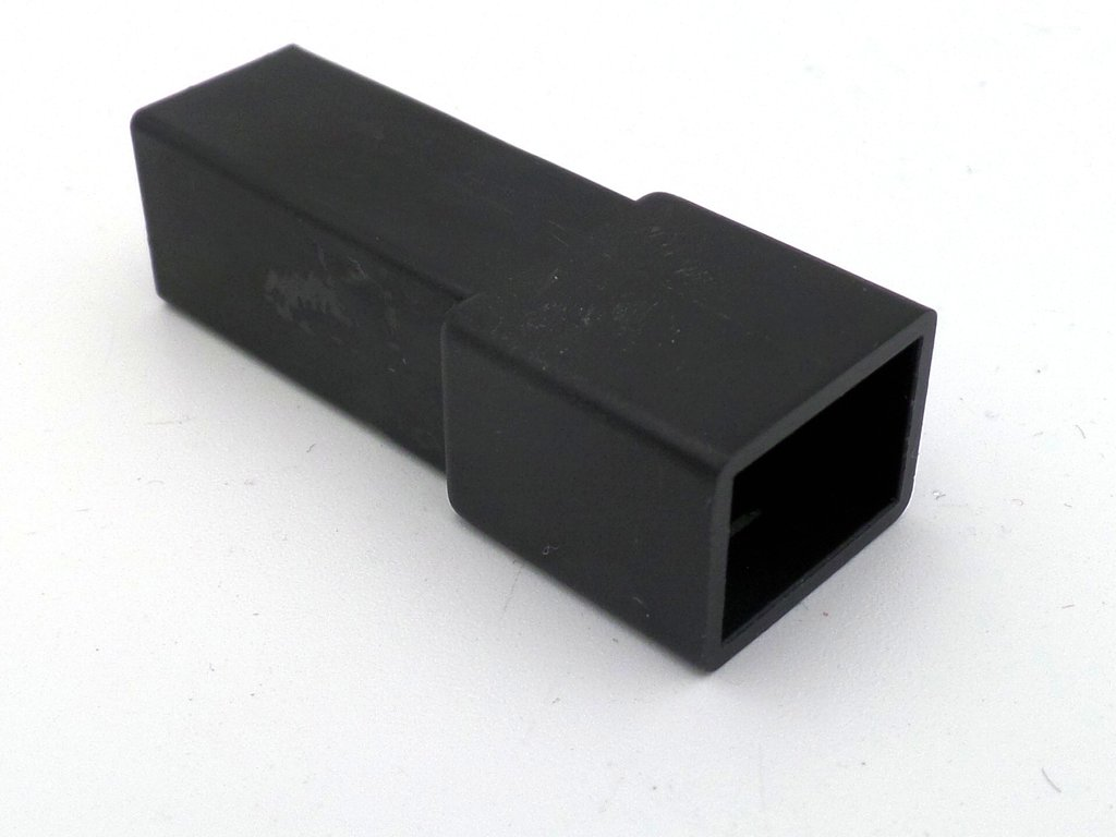 hight resolution of  6 3mm 1 way automotive wiring loom connector in black
