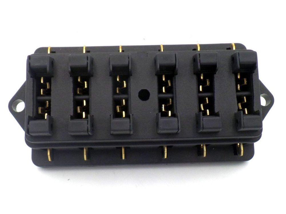 medium resolution of surface mount 6 way side entry automotive fuse box