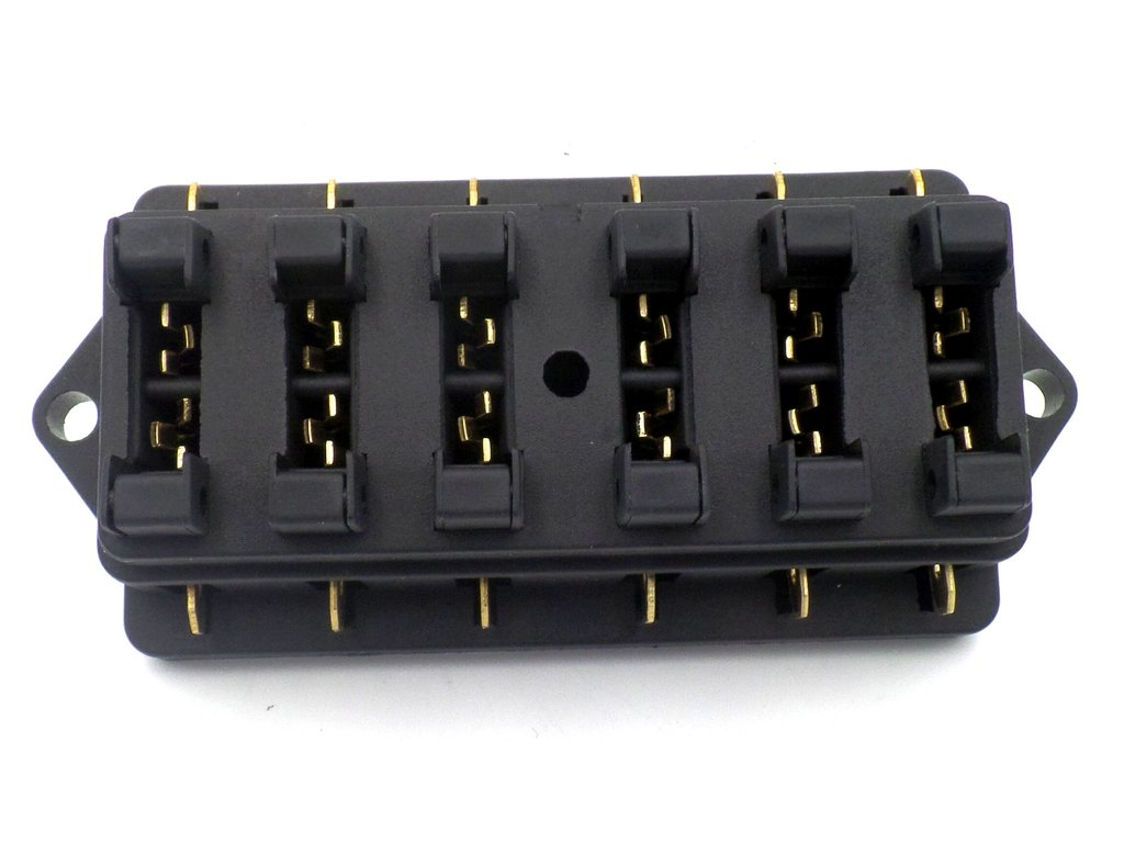 hight resolution of surface mount 6 way side entry automotive fuse box