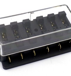 surface mount 6 way side entry automotive fuse box  [ 1024 x 768 Pixel ]