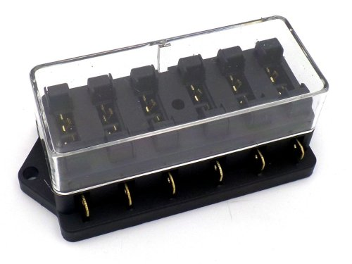 small resolution of surface mount 6 way side entry automotive fuse box