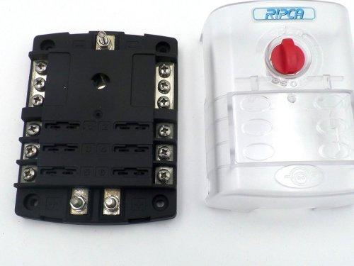 small resolution of 6 pole automotive marine atc blade fuse box