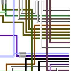 Triumph T100 Wiring Diagram Directory Tree T150 4 Speed Trident Uk Spec Colour Loom