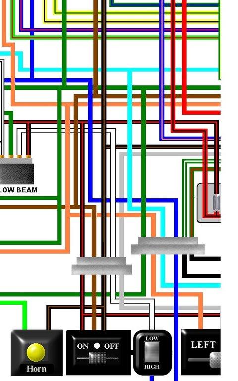 Led Wiring Diagram 3 Honda Cbr900rr Fireblade 1996 97 Uk Colour Wiring Loom Diagram