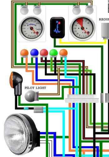 Honda Motorcycle Headlight Wiring Diagram Cx500 Amp Cx650 Colour Electrical Wiring Diagrams