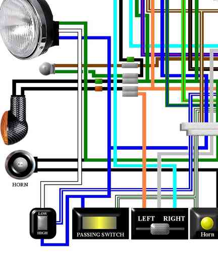 1978 cx500 wiring diagram wiring diagram - cx500 wiring harness