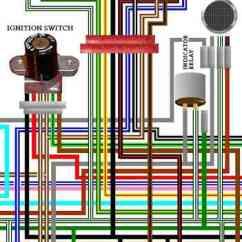 Honda Goldwing 1200 Wiring Diagram 1995 Accord Gl1100 Harness Description Large A3 Colour Circuit Diagrams Gl1500