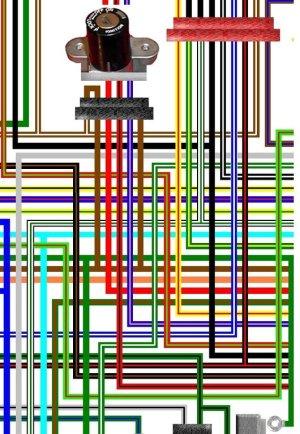 Honda VFR750 FL FM FP 1991  93 Colour Motorcycle Wiring Diagram