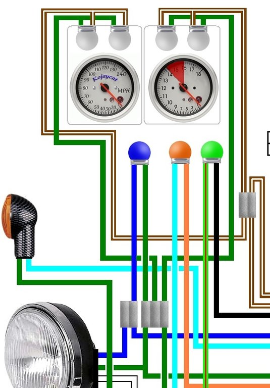 cb400 vtec wiring diagram 1996 honda accord distributor cb450 cb500 cl450 uk spec colour loom
