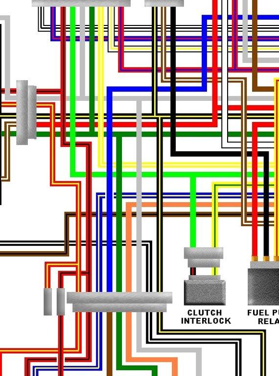 Honda Vtx 1300 Wiring Diagrams Kawasaki Zzr1100 D1 D2 Uk Colour Motorcycle Wiring Diagram