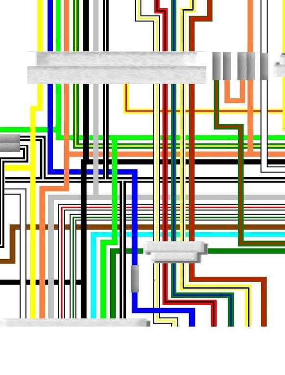Honda Power Seat Wiring Diagram Suzuki Gs750 Gl 1981 Uk Euro Spec Colour Wiring Loom Diagram