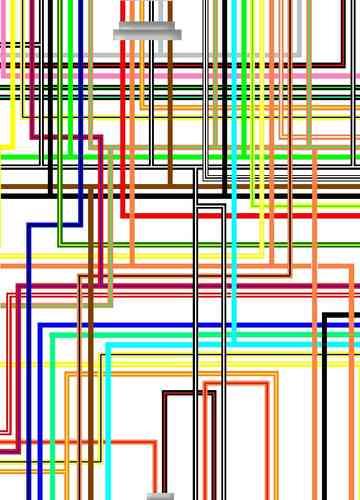 2004 hayabusa wiring diagram fujitsu 10 suzuki gsx1300r large colour easy to read 98 2000 uk spec